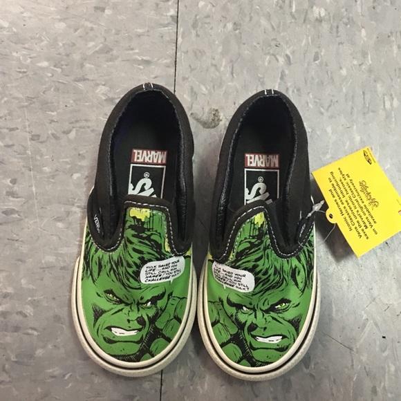 Vans Shoes | Baby Hulk | Poshmark